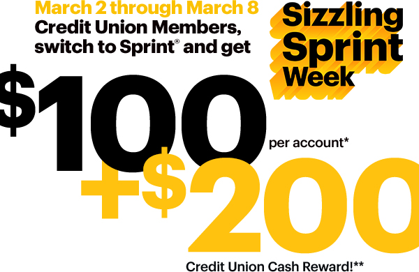 Sprint Sizzling Offer