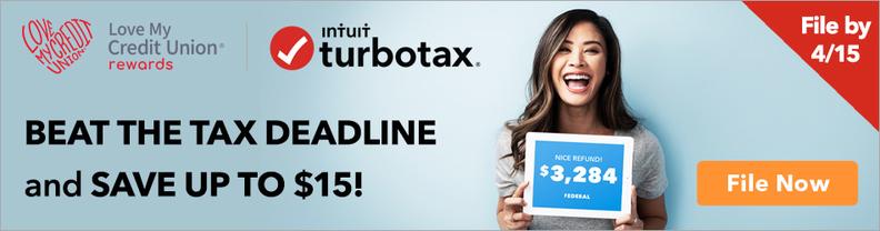 TurboTax Credit Union Member Discount